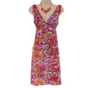 16 XL 1X▪️GORGEOUS FLORAL TIERED DRESS Plus Size